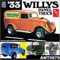 1933 - WILLYS Panel Truck - AMT - 1/25