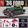 1936 - FORD COUPE / ROADSTER - AMT - 1/25