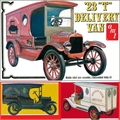 1923 - Ford T Delivery Van - AMT - 1/25