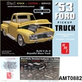 1953 - Ford Pickup Truck - AMT - 1/25