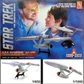 STAR TREK - USS Enterprise NCC-1701 - 2 KITS AMT