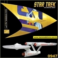 STAR TREK - USS Enterprise NCC-1701 - 50 anos - AMT - 1/650
