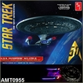 STAR TREK - USS Enterprise NCC-1701-D CLEAR - AMT - 1/1400