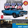 1969 - Plymouth  GTX Dirty Donnys - AMT - 1/25