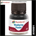 Humbrol BLACK Weathering Powder - 28ml