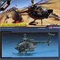 Helicoptero HUGHES 500 D TOW Defender - Academy - 1/48