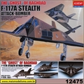 F-117A Stealth Attack-Bomber - Academy - 1/72