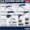 U.S. MACHINE GUN Set - Academy - 1/35