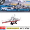 German Battleship Tirpitz - Academy - 1/800