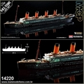 R.M.S. TITANIC MCP - LED Set Academy - 1/700