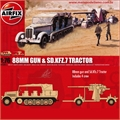 88 mm GUN and SD. KFZ. 7 Tractor - Airfix - 1/76
