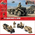 British Forces QUAD Bikes and Crew - Airfix - 1/48