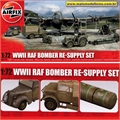 WWII RAF Bomber Re-Suply Set - Airfix - 1/72