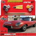 Jaguar E-Type - START-SET Airfix - 1/32