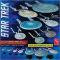 STAR TREK - USS Enterprise Model Set - AMT - 1/2500