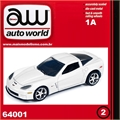 2012 - Chevy CORVETTE Z06 Branco - Auto World - 1/64