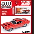 1969 - Pontiac Firebird Trans Am Laranja - Auto World - 1/64