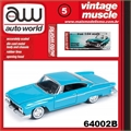 1961 - Dodge Dart Phoenix Azul - Auto World - 1/64