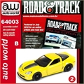 2011 - Callaway Corvette Amarelo - Auto World - 1/64