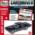 1966 - Oldsmobile 4-4-2 Preto - Auto World - 1/64