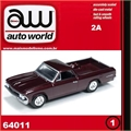 1966 - Chevy EL CAMINO Vinho - Auto World - 1/64