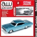 1966 - Mercury COMET Cyclone Azul - Auto World - 1/64