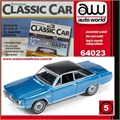 1971 - Dodge DART Swinger Azul - Auto World - 1/64