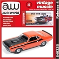 1970 - Dodge CHALLENGER T/A Laranja - Auto World - 1/64