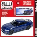2015 - Ford MUSTANG GT Azul - Auto World - 1/64