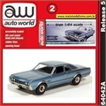 1966 - Oldsmobile- 442 Azul - Auto World - 1/64