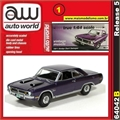 1971 - Dodge Dart Swinger Vinho - Auto World - 1/64