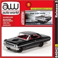 1964 - Ford Galaxie 500 XL Preto - Auto World - 1/64