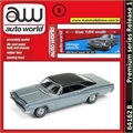 1966 - Chevy Impala SS 427 Prata - Auto World - 1/64