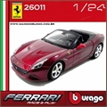 FERRARI California T (open top) Vinho - Bburago - 1/24