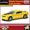 CJ64 - CHEVROLET CAMARO Amarelo - California Junior - 1/64