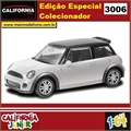 CJ64 - MINI COOPER S JCW Branco - California Junior - 1/64