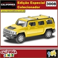CJ64 - HUMMER H3 Amarelo - California Junior - 1/64
