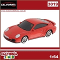 CJ64 - PORSCHE 911 Turbo (997) Vermelho - California Junior - 1/64
