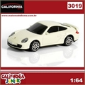 CJ64 - PORSCHE 911 Turbo (997) Branco - California Junior - 1/64