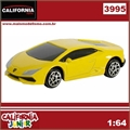 CJ64 - LAMBORGHINI HURACAN LP 610-4 Amarela - California Junior - 1/64