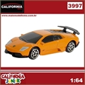 CJ64 - LAMBORGHINI MURCIELAGO LP 670-4 SV Laranja - California Junior - 1/64