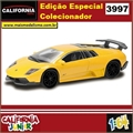 CJ64 - LAMBORGHINI MURCIELAGO LP 670-4 SV Amarelo - California Junior - 1/64