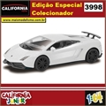 CJ64 - LAMBORGHINI GALLARDO LP 570-4 Branca - California Junior - 1/64