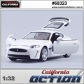 Jaguar XKR-S Branco - California Action - 1/32