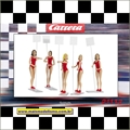 21113 - Set 5 FIGURAS Gridgirls - Carrera - 1/32