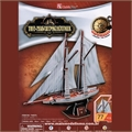 TWO-MASTED SCHOONER - Cubic Fun - T4007h
