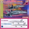 F/A-18F SUPER HORNET LOW VIS - 2 KITS Dragon - 1/144
