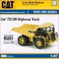 DCM - OFF-HIGHWAY TRUCK CAT 772 - Diecast Masters - 1/87