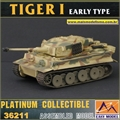 EMT - TIGER I Early Type s.Pz.Abt.508 Italy 1943 - Easy Model - 1/72