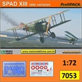 SPAD XIII Late Version - ProfiPACK Edition Eduard - 1/72